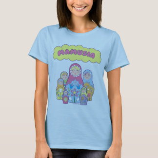 Mamusia Nesting Dolls T-Shirt