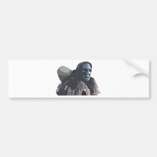 mamuthones bumper sticker