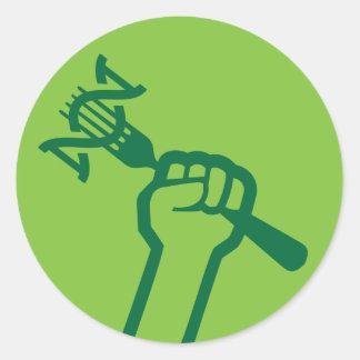 MAMyth Fist Round Sticker