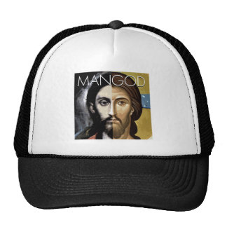 MAN AND GOD TRUCKER HAT
