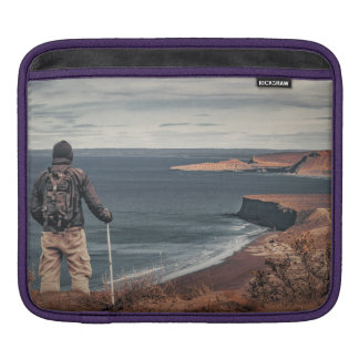 Man at Highs Contemplating The Landscape iPad Sleeve
