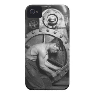 man at whork iPhone 4 covers