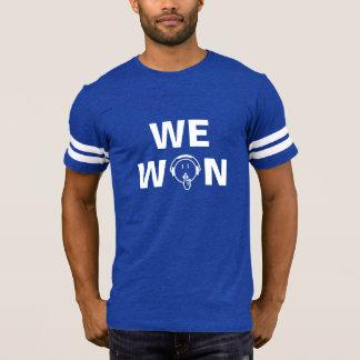 Man Be Quiet We Won dark colour T-Shirt – Men's