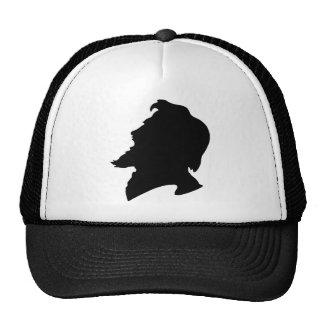 man bearded trucker hat