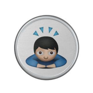 Man Bowing - Emoji Speaker