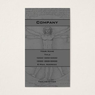 Man Business Card