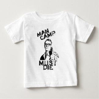 Man Camp Must Die Baby T-Shirt