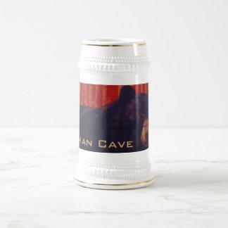 Man Cave Black Bear Beer Steins