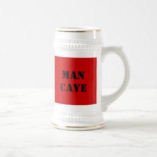 MAN CAVE design Stein 18 Oz Beer Stein