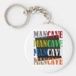 Man Cave Key Chain