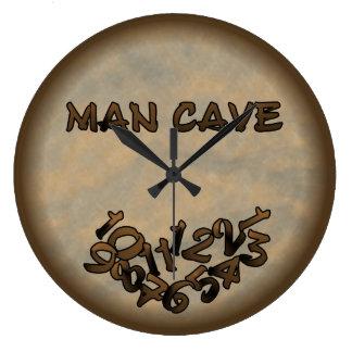 Man Cave Large Clock