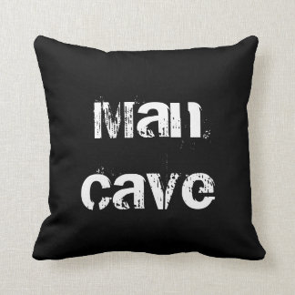Man Cave Movie Night Personalized Pillow