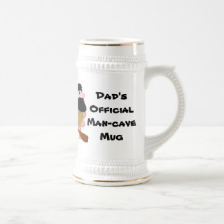 Man Cave Mug Cave Man w/Dark Hair