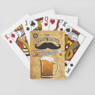 Man Cave -- Playing Cards