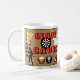 Man Cave - Wrap around Coffee Mug