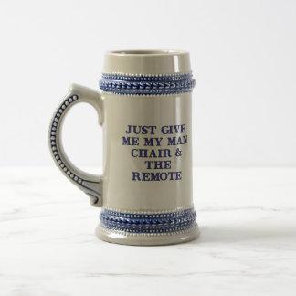 Man Chair Remote Mugs