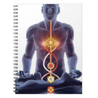 man chakras notebook