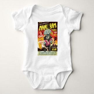 Man Clam Baby Bodysuit