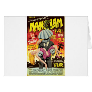 Man Clam Card