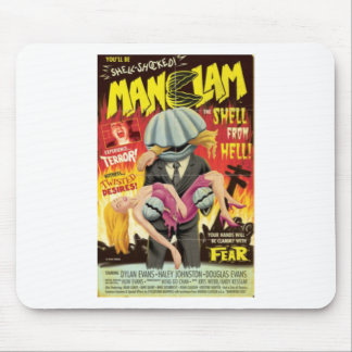 Man Clam Mouse Pad