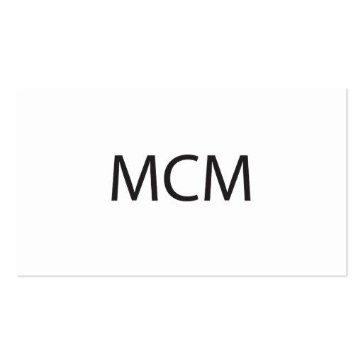 Man Crush Monday.ai Business Cards