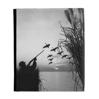 Man Duck Hunting iPad Folio Covers