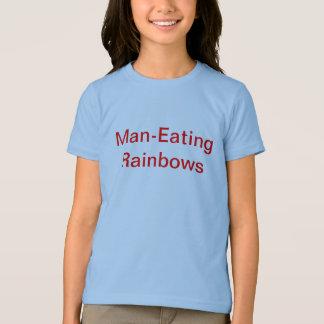 Man eating rainbows T-Shirt