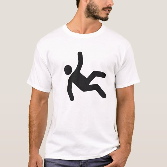 Man falling over T-Shirt