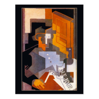 Man from Touraine by Juan Gris Postcard