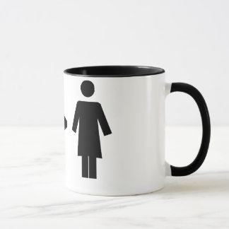 Man Greater Than Woman Mug