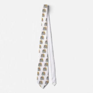 Man having a yard sale tie