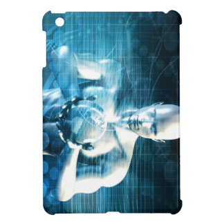 Man Holding Globe with Technology Industry iPad Mini Cases