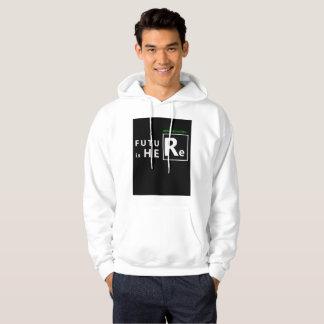 man hooded hoodie