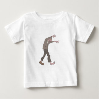 Man In A Suit Creepy Zombie With Rotting Flesh Out Baby T-Shirt