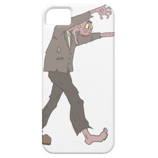 Man In A Suit Creepy Zombie With Rotting Flesh Out Case For The iPhone 5