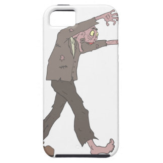 Man In A Suit Creepy Zombie With Rotting Flesh Out iPhone 5 Cases
