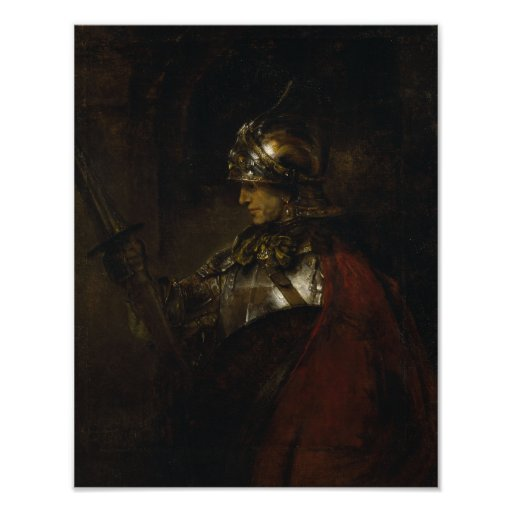 Man in Armour Posters