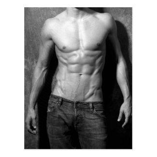 Man In Jeans Postcard