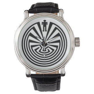 man in maze watch