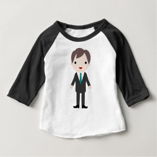Man in Suit Baby T-Shirt