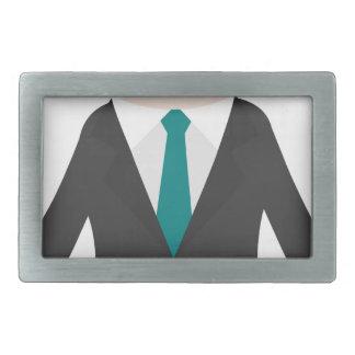 Man in Suit Belt Buckles