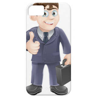Man in suit thumbs up drawing iPhone 5 cases
