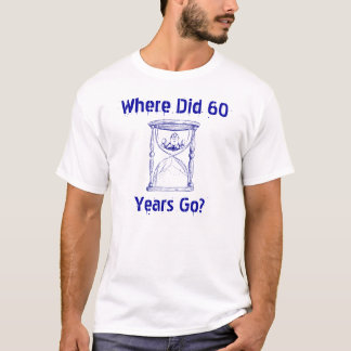 Man In the Hourglass Sandglass as it empties out T-Shirt