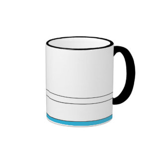 Man in the lake coffee mug