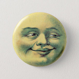 Man-in-the-Moon 2 Inch Round Button