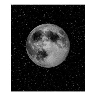 Man in the Moon Poster - Resizeable Poster