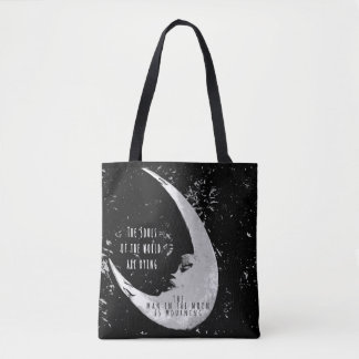 Man in the Moon Tote Bag