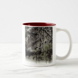Man in the Mountain, Yosemite National Park Two-Tone Coffee Mug