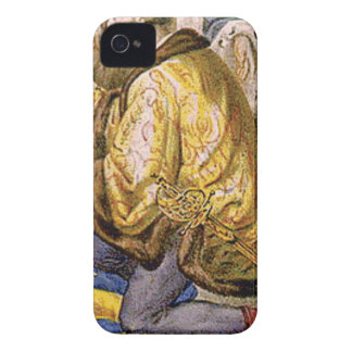 man in yellow kneels iPhone 4 cover