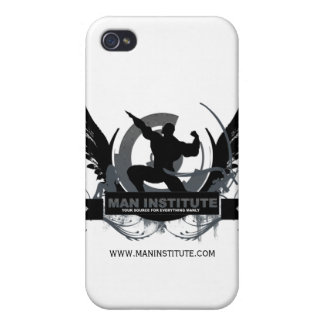 Man Institute Iphone Case iPhone 4/4S Case